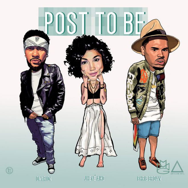 "Omarion Jhene Aiko Chris Brown DJ Mustard ""Post To Be"""